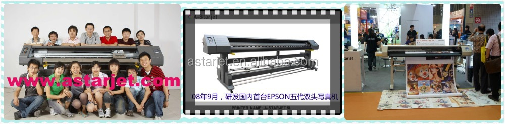 A-Starjet 7702L UV, 3.2M/10.5Feet/126Inch Printer with DX7