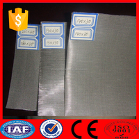 Plain Weave/Woven Stainless Steel Cloth/Fabric/Screen/Wire Mesh