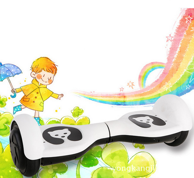 Electric Scooter Child two Wheel smart electric Standing Balanced car hoverboard Bicycle Drift Scooters Monorover for Children