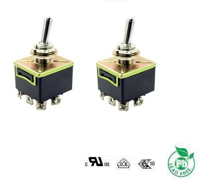 on off on dpdt 15a boat toggle switch with ul tuv ce ccc approval
