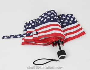 The United States America flag umbrella with perfect printing