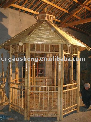 Bamboo Hut, Bamboo Hut Suppliers and Manufacturers at Alibaba.com