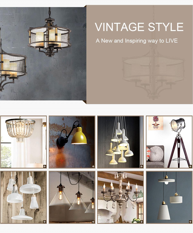 Shenzhen Aifeel Lighting Co., Ltd. - Vintage lighting, Modern lighting