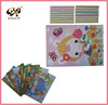 Mosaic layers sticker diy nursery children sticker reward diamond DIY sticker