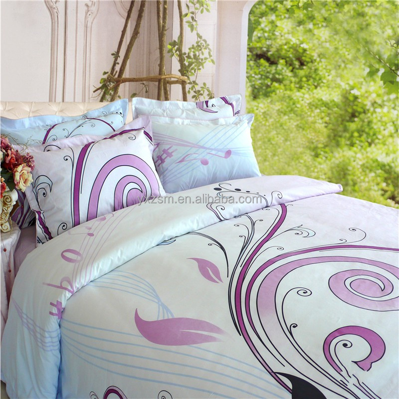 Reactive Print Healthy Beautiful Full Cotton Bedsheet Neutral Bedding Sets