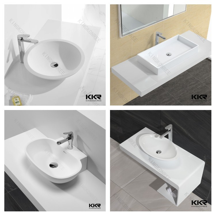 bathroom sink in spanish resin wash basin small rectangular bathroom sinks 16520