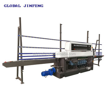 JFE-9540 9 Motor Multi-function glass straight line edge and polish machine hot sale