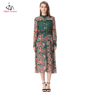 Green Modern Style Fashion Design African Ladies Lace Dress Sexy Womens Clothing Straight Chiffon African Print Dress Buy African Print