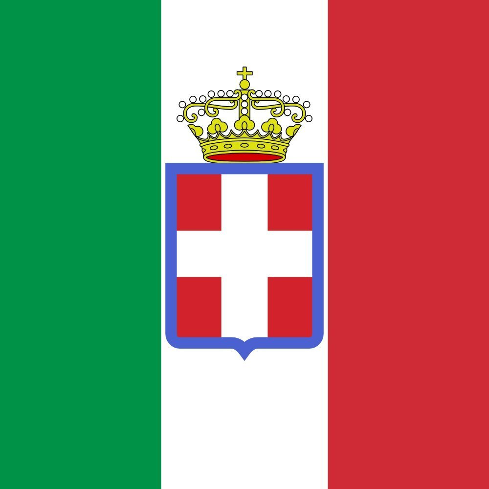 magFlags XL Flag Italy 1860 | Kingdom of Italy, Royal Army model 1860 120x180cm | 4x6ft -- 100% Made in Germany -- long lasting outdoor flag