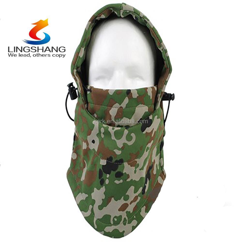 Deportes al aire libre militar de lana polar pasamontañas sombrero ...