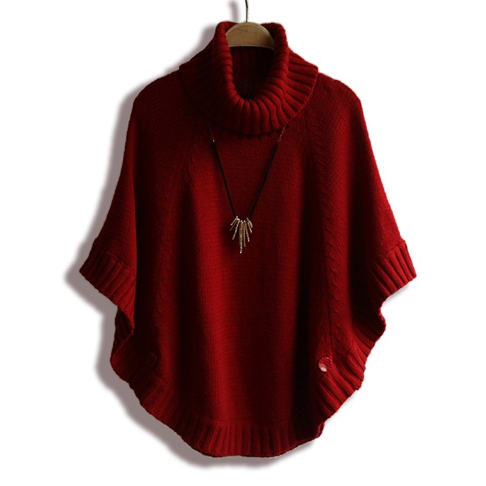 Cheap Poncho Turtleneck Sweater, find Poncho Turtleneck Sweater ...
