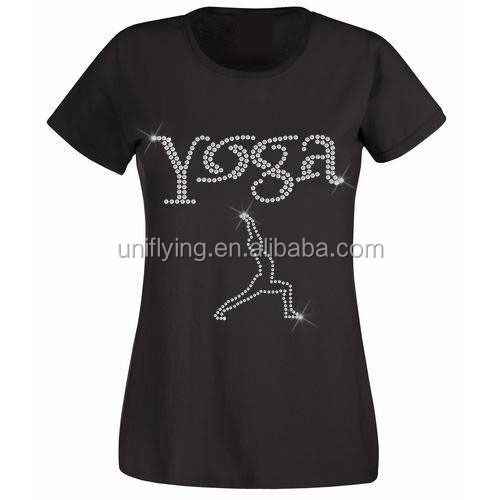 Custom Women's T-shirts O Neck Short Sleeve Tee Trend Personalized Design Your Own Yoga Shirt