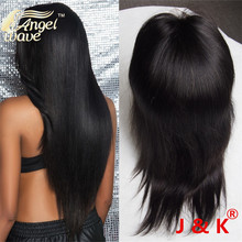Angelwave hair 7A full lace human hair wigs for black women glueless full lace wigs 100 human hair wigs for african americans