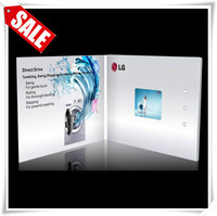 Brand new handmade tft lcd greeting card supplies