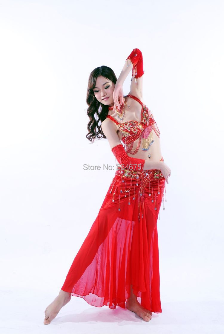 2014 new suit for belly dance of egyptian belly dance ...