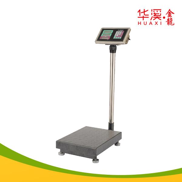 Industrial scale with 30x40cm platform 100kg