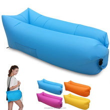 Inflatable Lounger with Air Valve, Fast Inflate by Air Pump or Wind Air Bag Lounger Stay Inflated 5 to 8 Hours