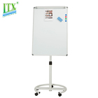 Durable whiteboard with tripod stand mobile interactive smart board flip chart