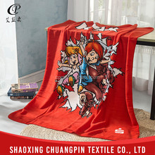 Fashion design promotion super soft polar fleece hospital blankets