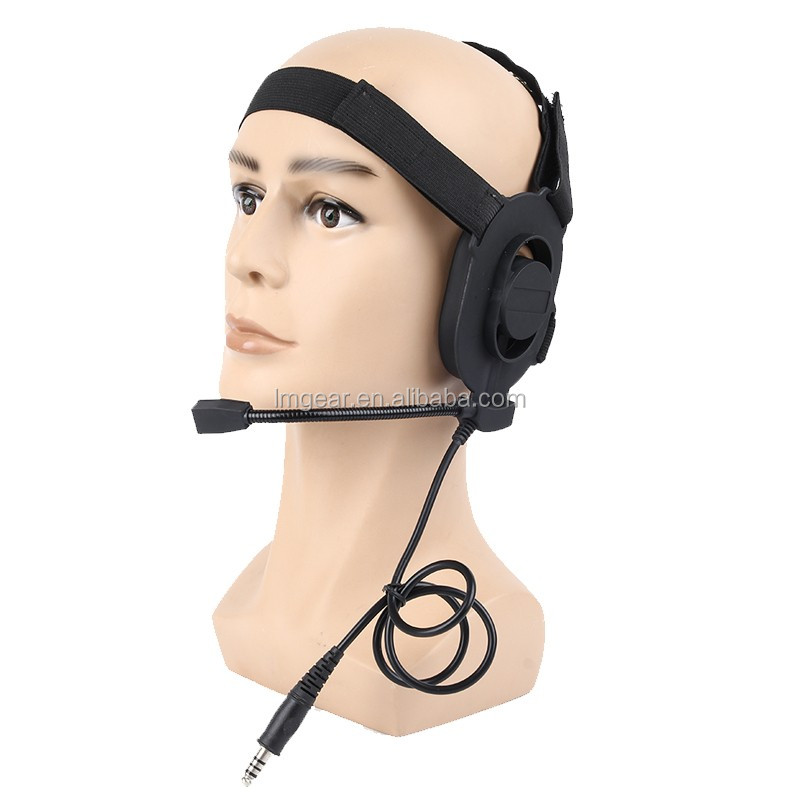 Profession noise canceling reduction radio tactical headset for walkie talkie helmet <strong>communication</strong>