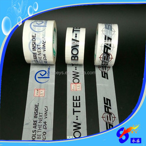 Best Quality BOPP Adhesive Custom Printed Carry Handle Tape