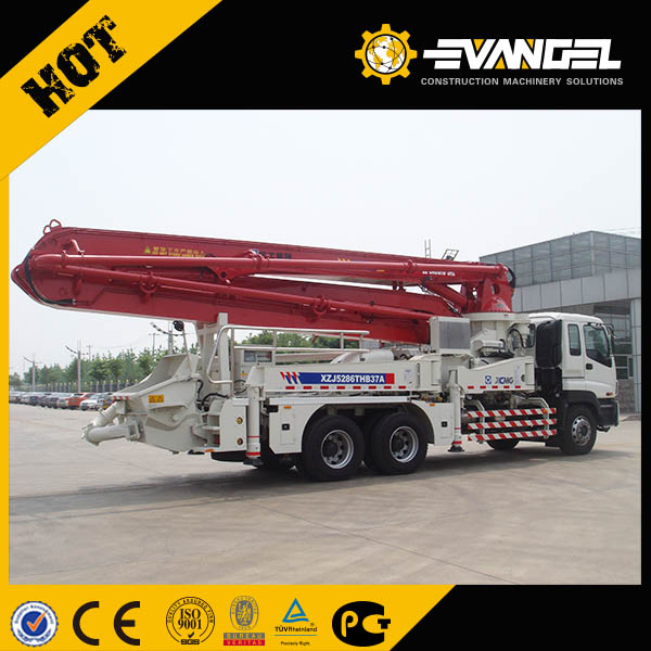 37M portable concrete mixer and pump