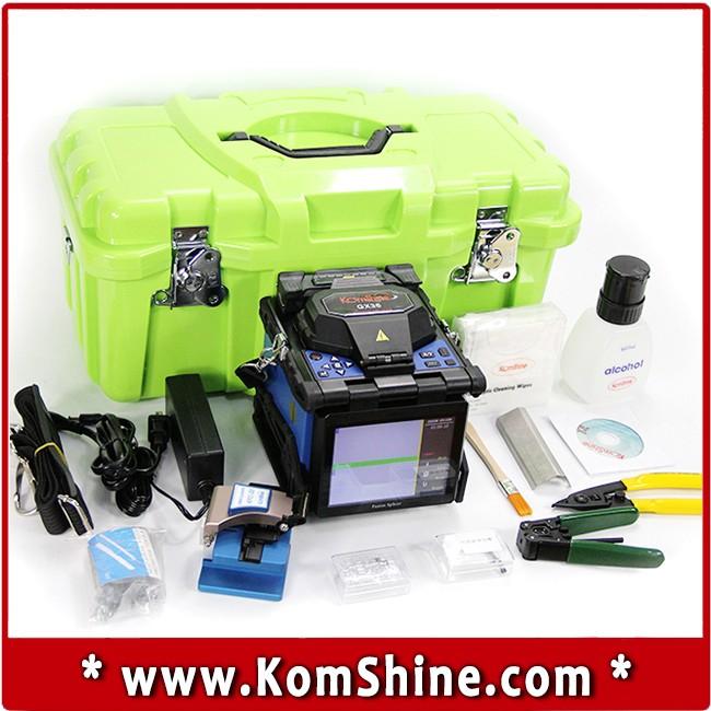 Komshine Gx36 Fusion Splicer/fiber Splicing Machine/fusionadora ...