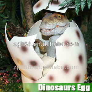 life size dino egg with baby dinosaur for sale