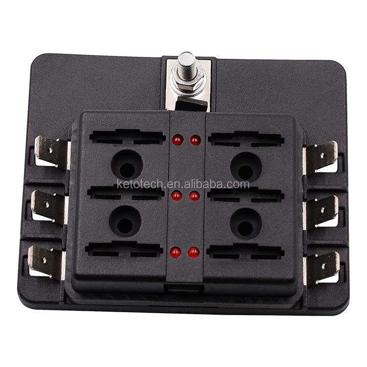 Dc 12 V 100 Amp Lkw Av 8 Way Blade 12 V Sicherungshalter - Buy ...