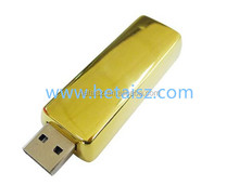 2016 Bulk Promotional Gift Cheap Golden Bar 128GB USB3.0 Flash Drive From Shenzhen Cheap 1GB 2GB 4GB 8GB
