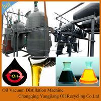 Black Car Oil/Motor Oil Recovery System Produce Base Oil