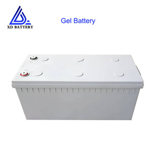 Rechargeable Lead Acid batterie Deep Cycle Solar Gel 12V 200AH Lithium Ion Battery Weight