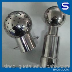 304 316 stainless steel spray ball manufacturer