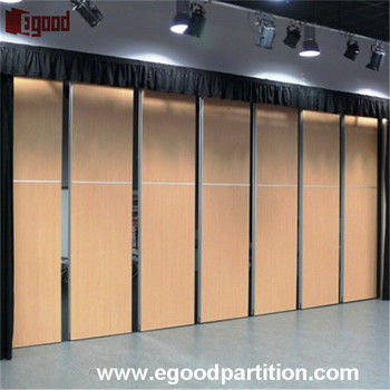 soundproof foldable room divider for dance studio in ballet school