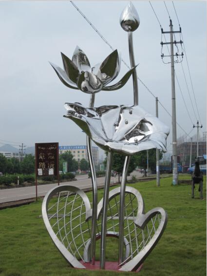amplio y moderno nuevo diseo de acero inoxidable artes escultura para la decoracin del jardn de