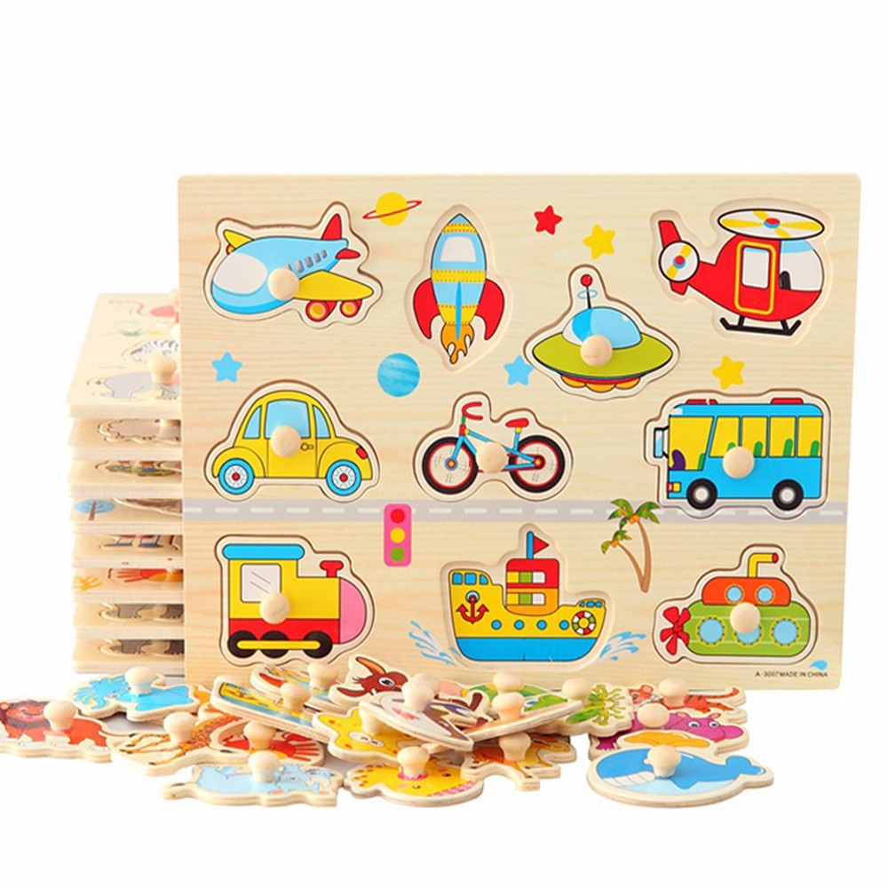 For Preshcool Children Educational Toys Wooden Toys Puzzle