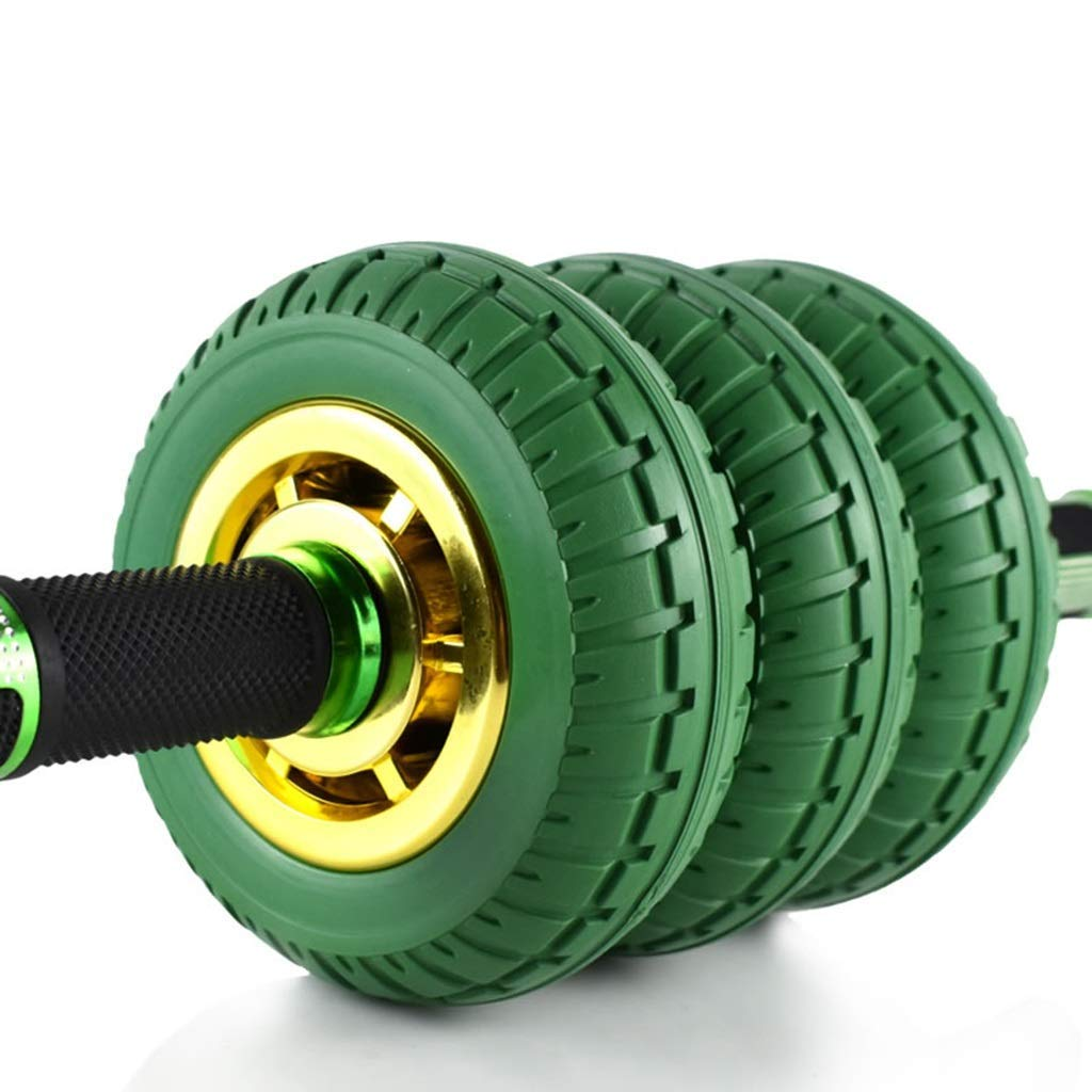 Green Fitness Equipment Abdominal Muscles Home Small Fitness Equipment Abdomen Artifact Men and Women Fitness Equipment New Fitness Equipment (Color : Green, Size : 411515cm)