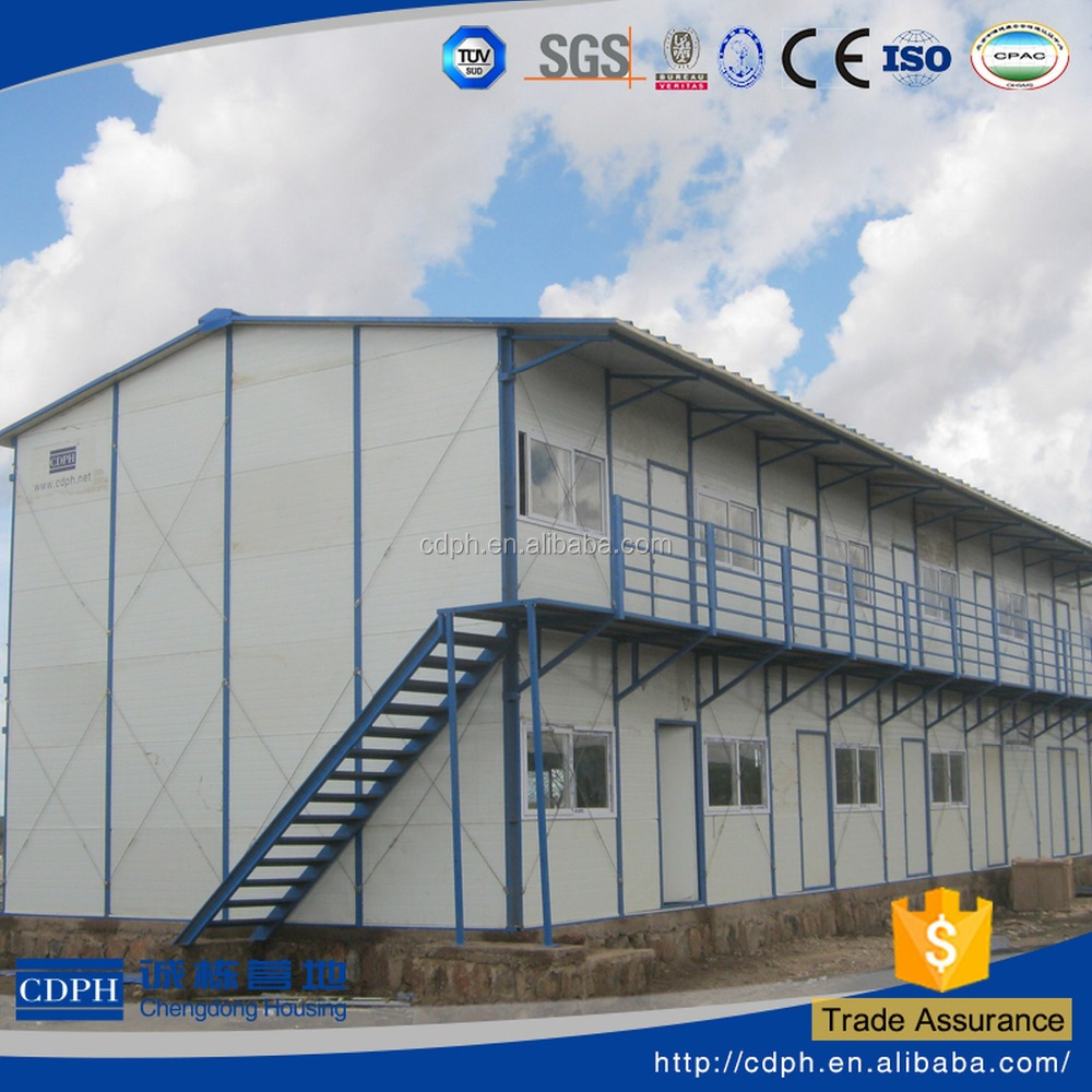 new design labor use construction site prefabricated homes