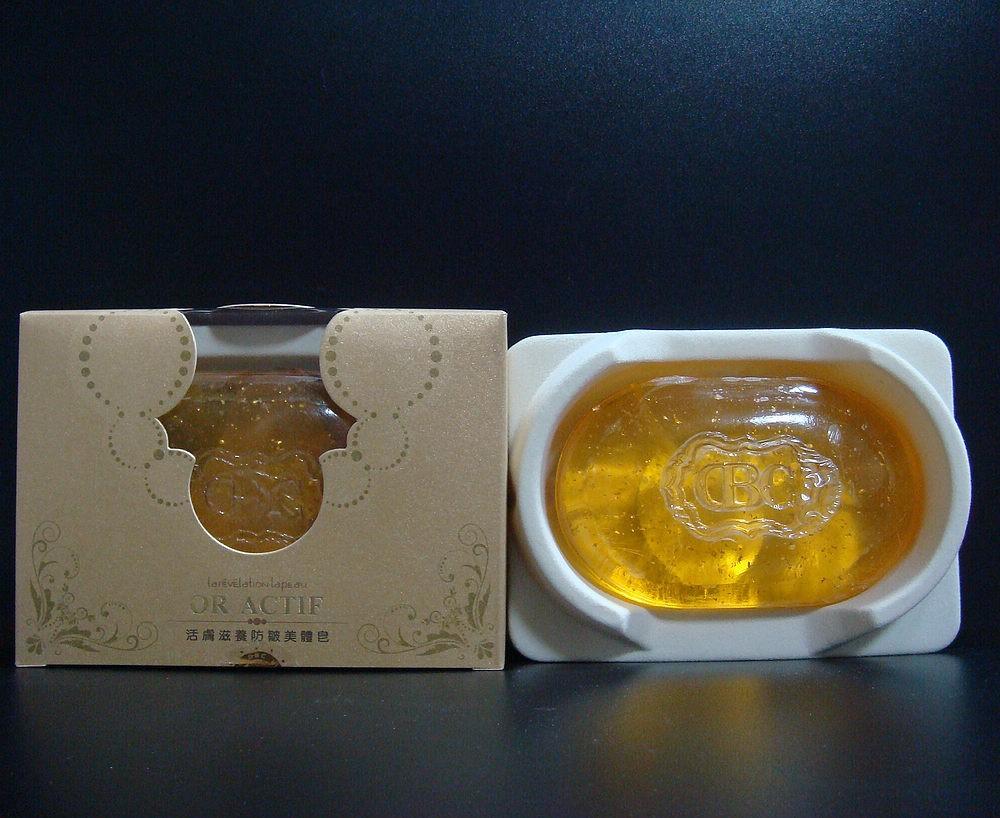 מחיר סיטונאי על התחדשות תיקון היופי סבון 100% טבעי סבון עם 999 זהב טהור! DZH02 משלוח חינם
