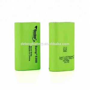 Factory price High Power Li-ion Cell 5300mAh 13A continuous discharge Boston Swing 5300