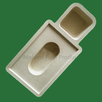Reasonable price good quality molded paper pulp cosmetic packaging insert