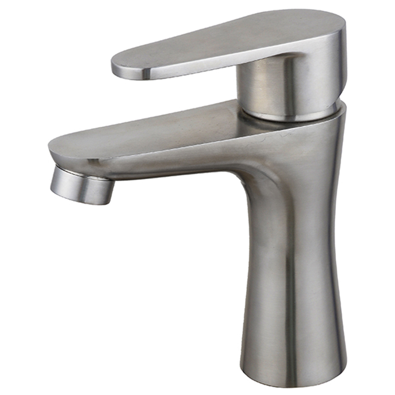 high quality 304 stainless less wash basin faucet