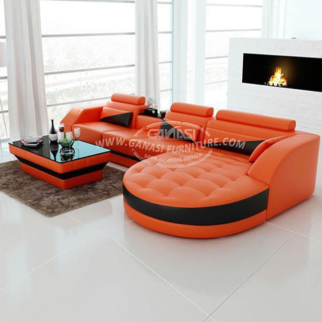 Ganasi Italian Furniture Design,Modern Style Genuine Leather Sofa Set - Buy  Genuine Leather Sofa Set,Genuine Leather Sofa Sets,Promotion Design Sofa ...