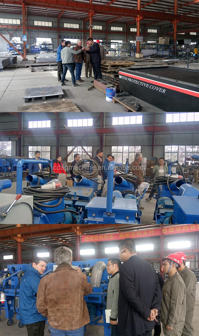 CE /ISO aprovado preço de fábrica China aspalt pequeno chão lixar máquinas de jateamento para venda