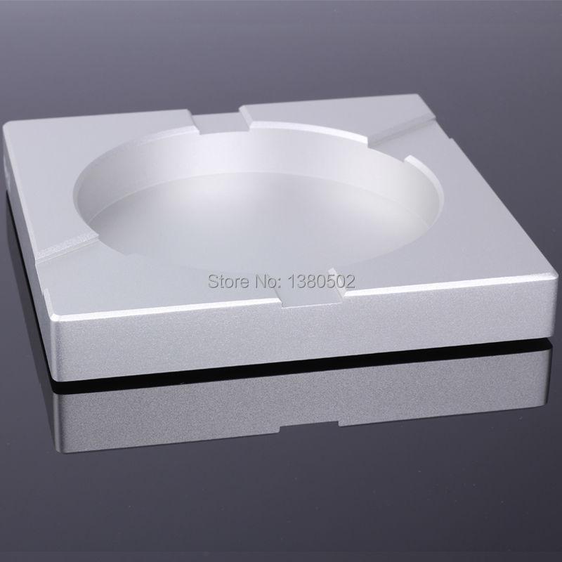 Новое поступление почетный площадь алюминиевого сплава металл роскошный курение сигарет пепельница держатель