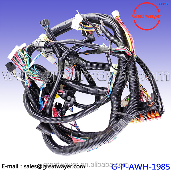 ex200-3 ex120-3 cabin wire harness construction machinery