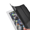 Fashionable Meidium Sizes Carbon Fiber Black Stand High Quality Smart Cases for iPad Air 1 2