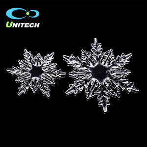 Wholesale PMMA Material Clear Christmas Tree Hanging Cheap Acrylic Christmas Snowflake Manufacturer In China