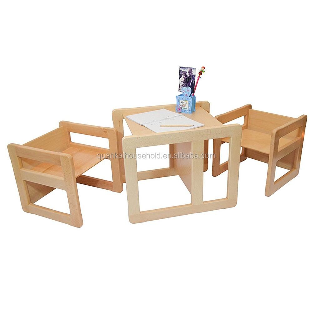 multifunctional furniture. 3 In 1 Children\u0027s Multifunctional Furniture Set Of 3, Two Small Chairs Or Tables And