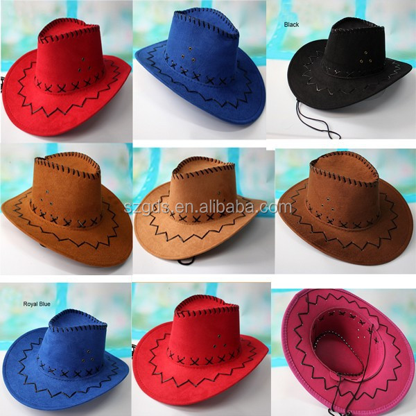 Factory Price Adults Mexican Cowboy Hat High Quality Similation ...